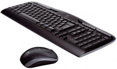 Logitech Wireless Combo MK330 in Schwarz