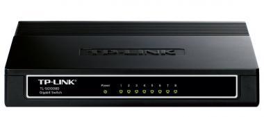 8 Port Switch TP-LINK TL-SG1008D in Schwarz