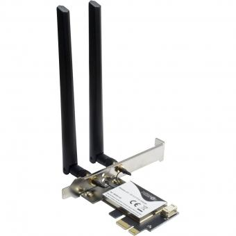3000Mbps WLAN + Bluetooth 5.0 Adapter