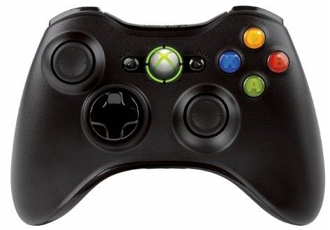 Microsoft Xbox 360 Wireless Controller für Windows (schwarz)